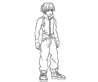 #9 Riku Coloring Page