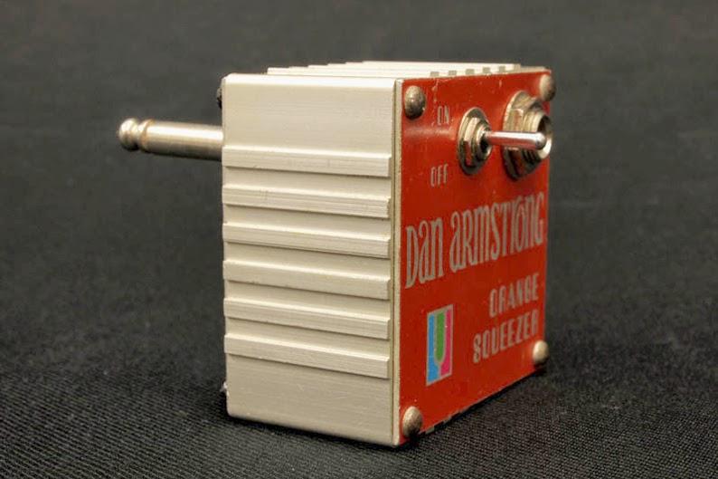 Dan Armstrong Orange Squeezer, compressor, compression, plug in, effect, box