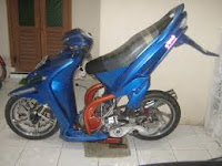 Motor Yamaha Mio ekstrem