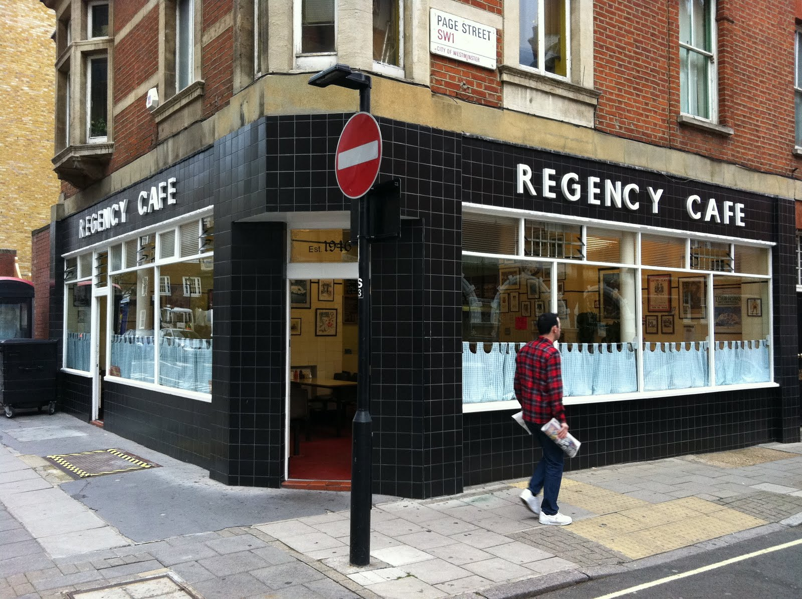 The Regency London Cafe