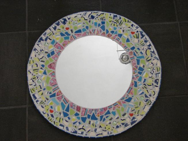 Lekker crea bezig hobby en kunst route - Kleine ronde niet spiegel lieve ...