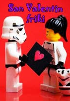 Especial febrero. San Valentin friki