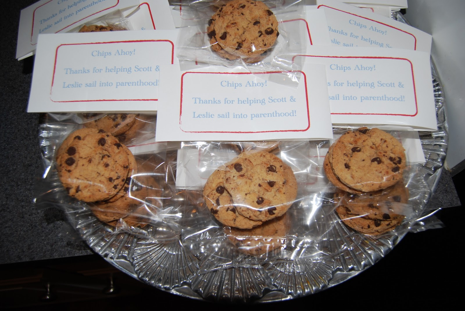 favors chips ahoy thanks for helping our friends sail into