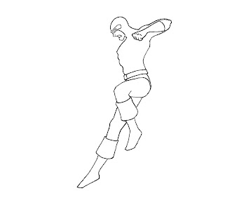 #11 Cyclops Coloring Page