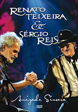 DVD - Renato Teixeira e Sergio Reis Amizade Sincera