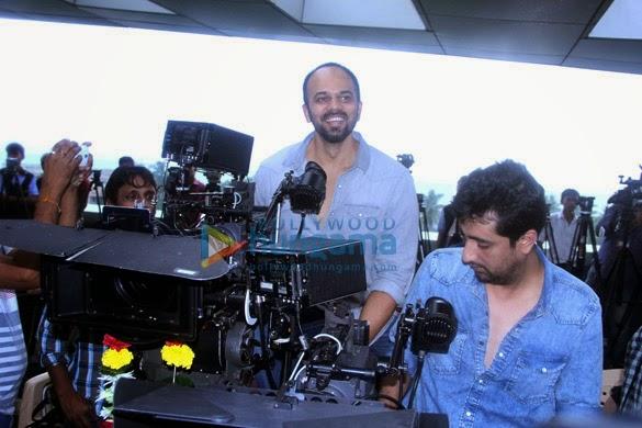 Mahurat of new movie 'Welcome To Karachi'