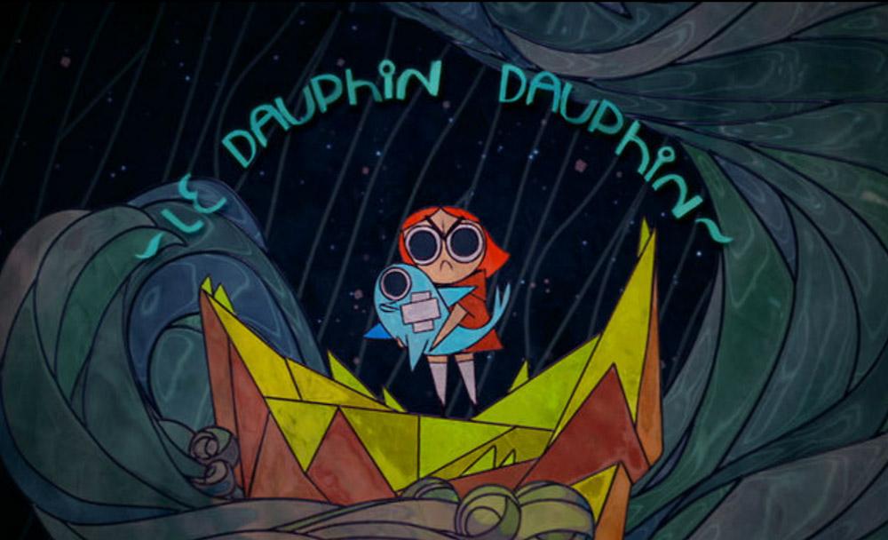 cortometraje,corto,Le Dauphin dauphin,francia,animacion