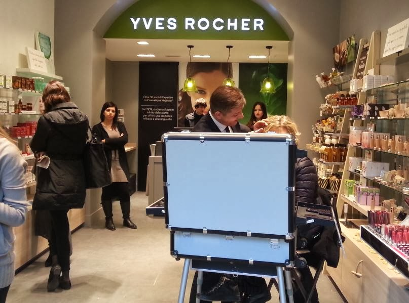 Golden backstage yves rocher apre un atelier a milano in for Progetti di piantagione