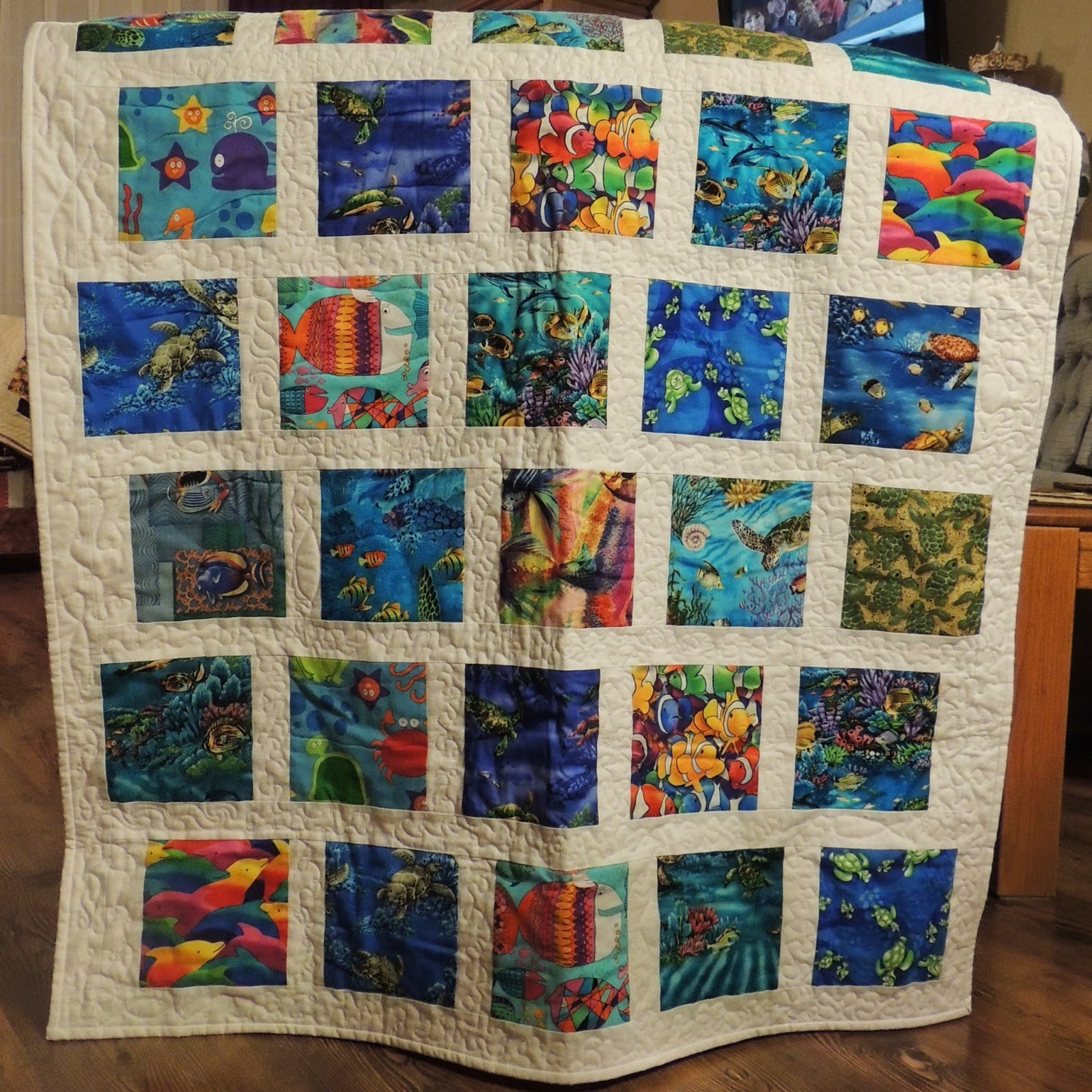A Pieceful Life: Quilting Pieces : hawaiian fabric quilts - Adamdwight.com