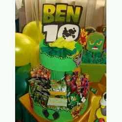 Ben 10 decoration, children parties centerpieces