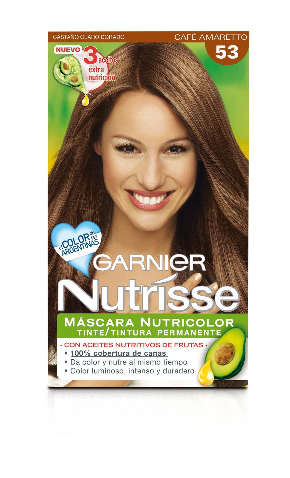 Ver carta de colores de Garnier Nutrisse - Imagui