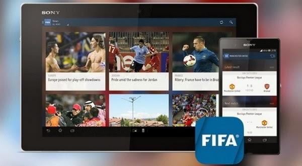 FIFA Hadirkan Aplikasi World Cup 2014