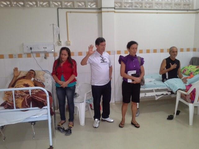 Evangelização na Fundação Hospitar