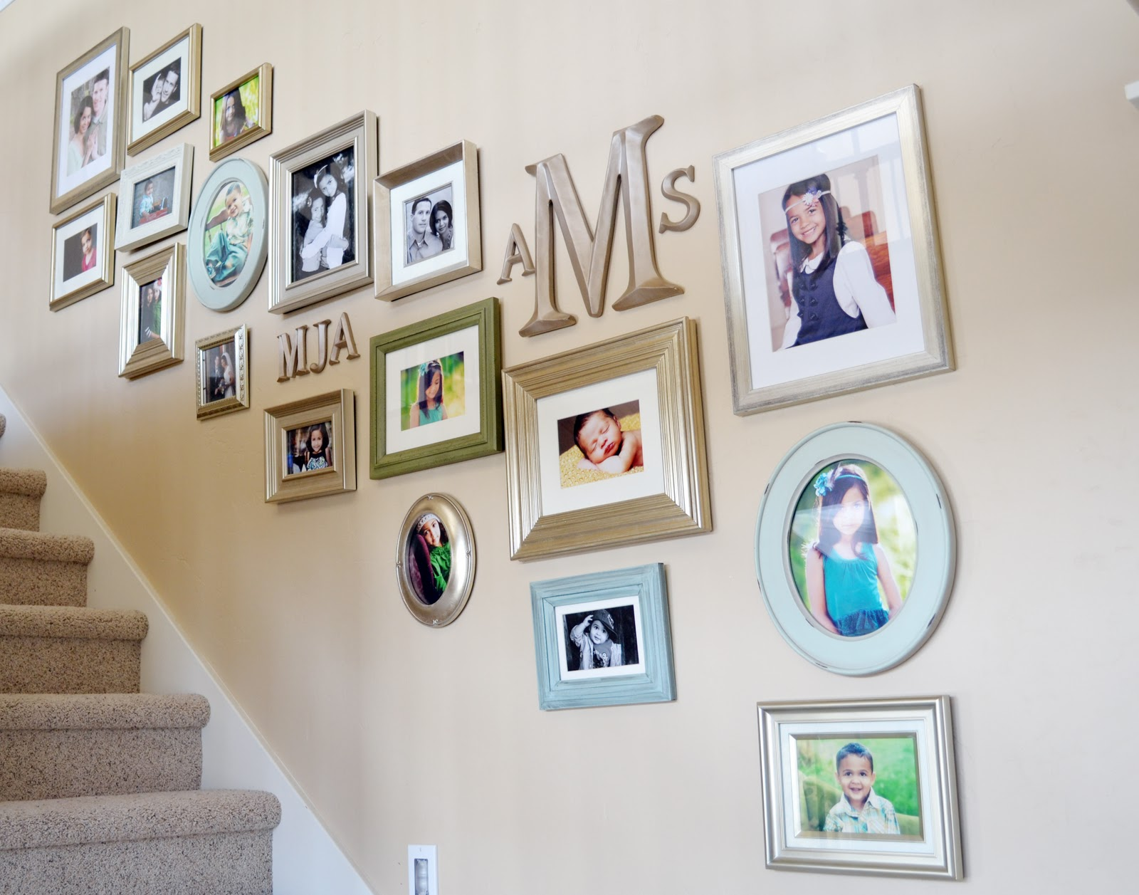 Picture Frames Staircase Wall Epic Staircase Gallery Wall Stairs