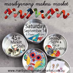I'm having my annual Spring Sale at the Maribyrnong Makers Market!