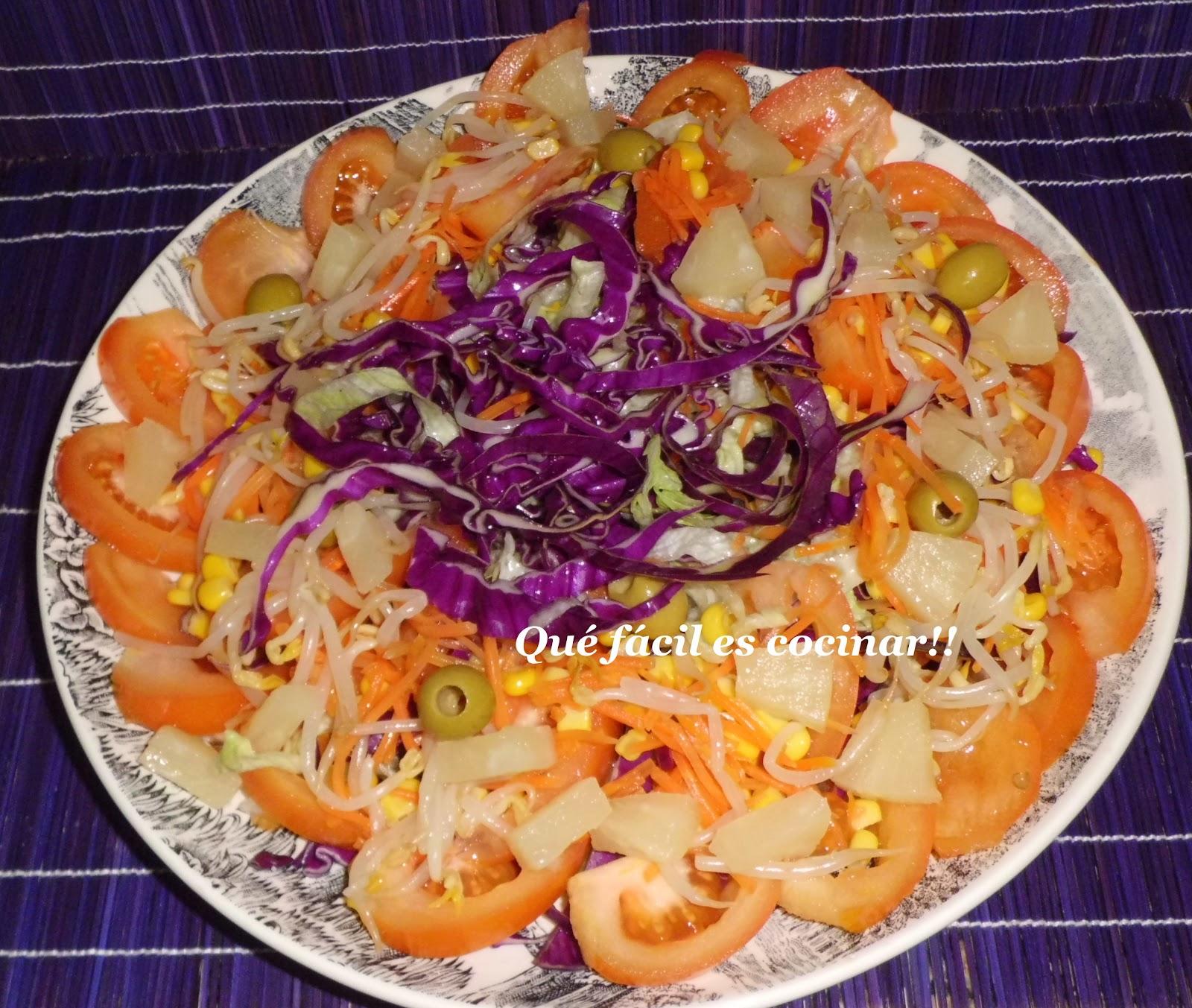 Perezosos a cocinar ensalada de lombarda for Cocinar lombarda