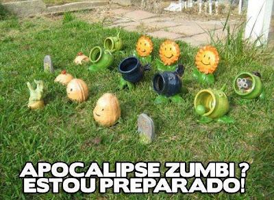 Apocalipse Zumbi? ESTOU PREPARADO!