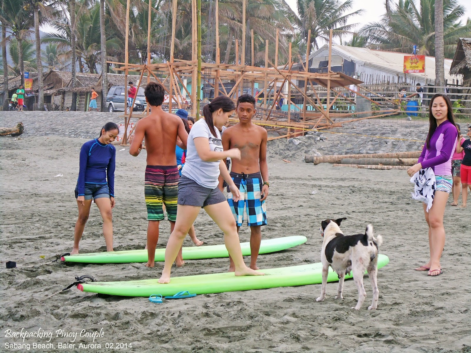 Baler, Backpacking Pinoy Couple, Philippines, It's More Fun in the Philippines, philippine travels, backpacking, backpacking philippines, how to go to aurora, how to go to baler, North Luzon, sabang beach, surfing, surfing in sabang