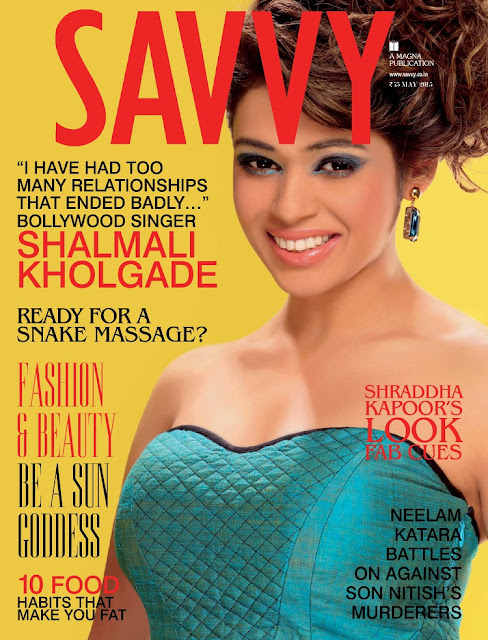Singer, Musician @ Shalmali Kholgade - Savvy Indian, May 2015