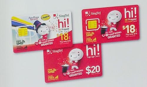 sim card di singapore, kartu sim singapura, telepon di singapura,