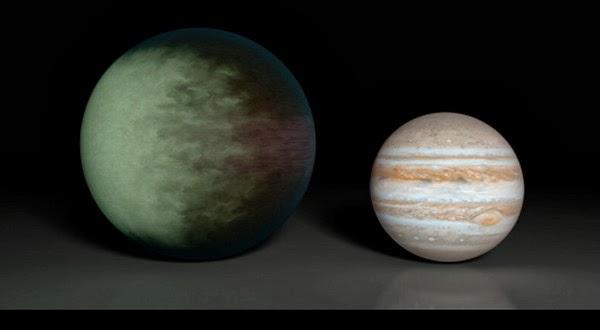Inilah Peta Awan Planet Yang Persis Jupiter