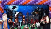 Painel de festas Halloween