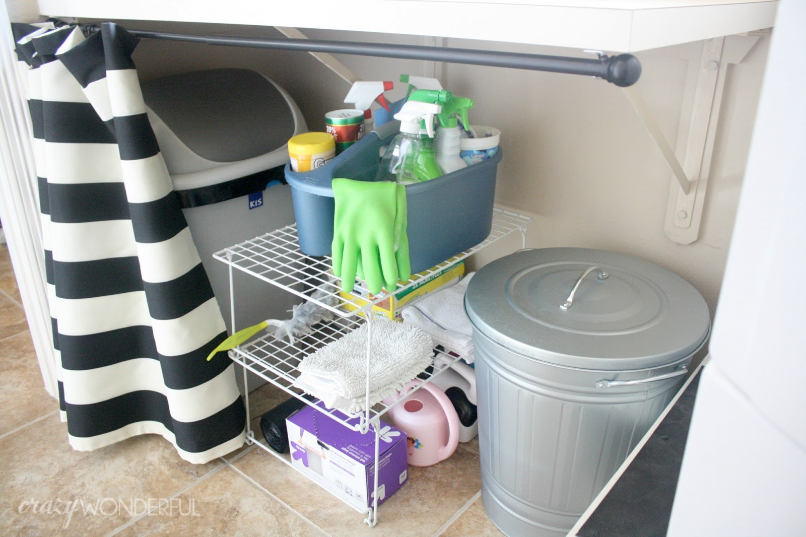 Trash Can for Laundry Room
