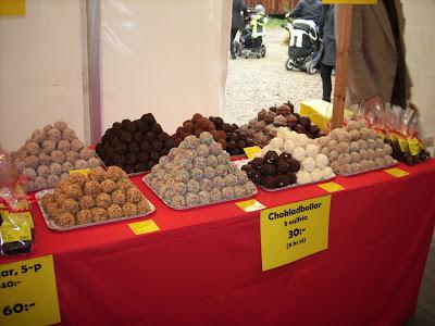 Chokladbollar fra Maglarp's Bullen.
