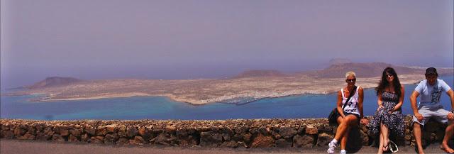 isla la graciosa desde el mirador de Lanzarote