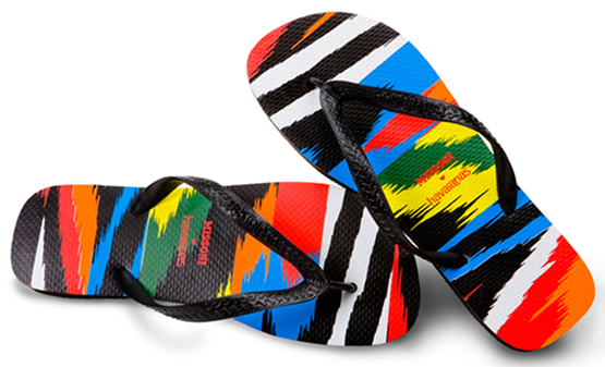 chanclas Missoni