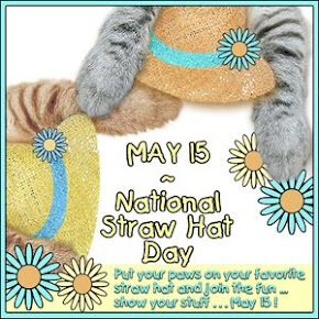 National Straw Hat Day - May 15th
