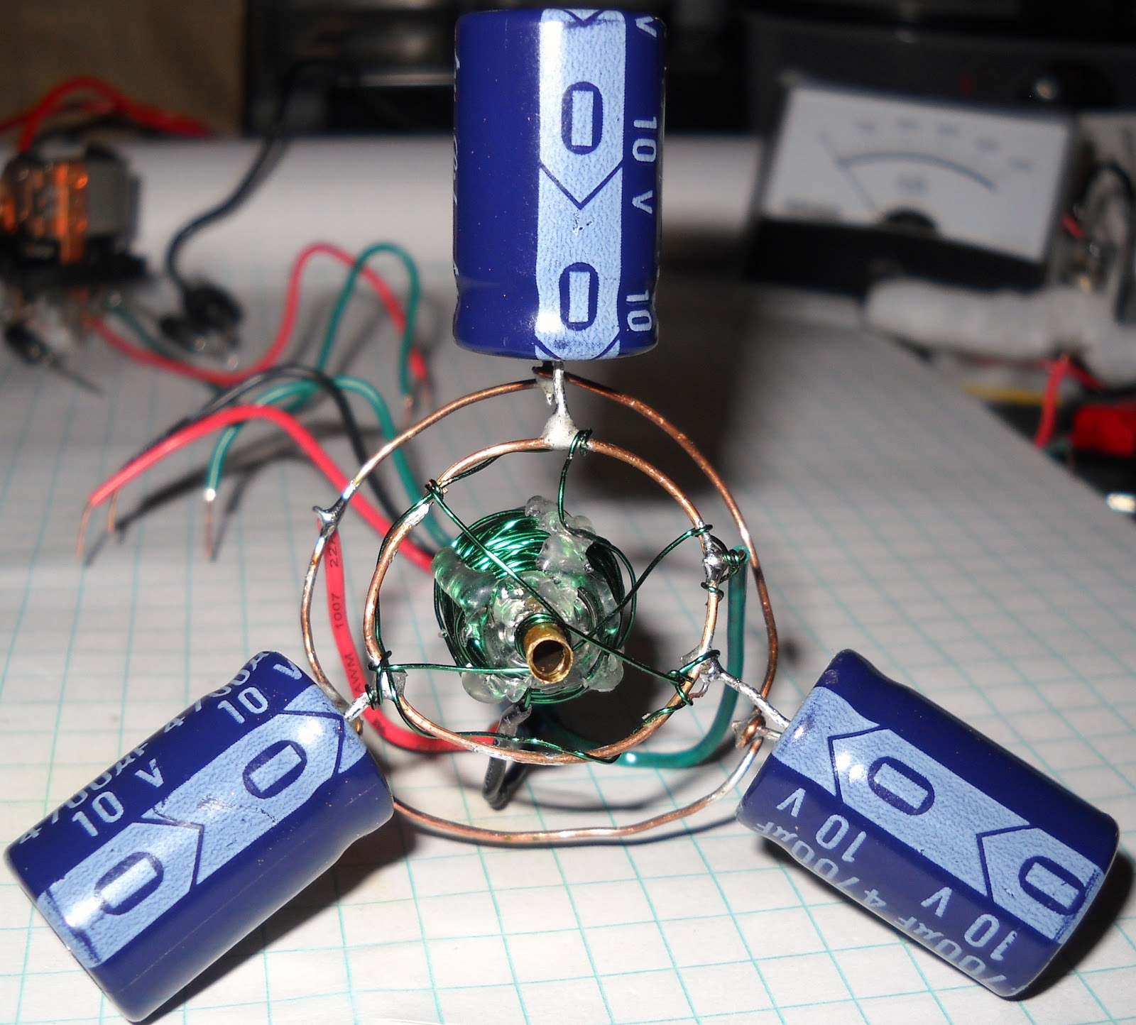 Calabans Beam And Electronics Coil Gun Test Firing Capacitor In Circuit It May Be A Strange Use Of Relay But Its New Trick My Toolbox First Lets Get Some Hero Shots The Coilgun All Glory