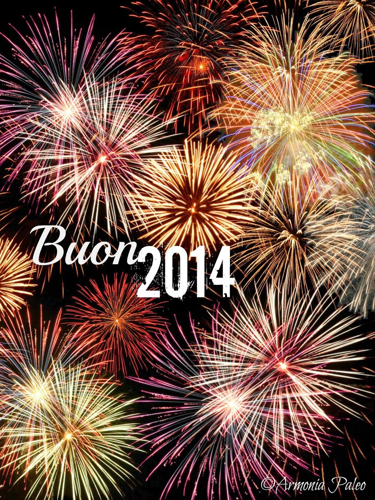 Auguri Buon Anno 2014 di Armonia Paleo