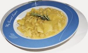 zuppa di ceci e maltagliati con secuquick amc