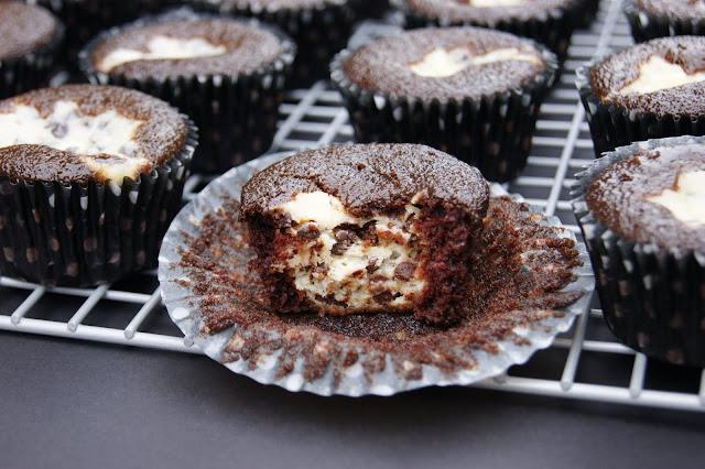 The Kitchen is My Playground: Black Bottom Cupcakes - mnah ...