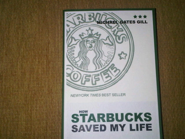 how starbucks saved my life A boomer's frothy ode to starbucks michael gates gill was accustomed to things going his way the son of new yorker.