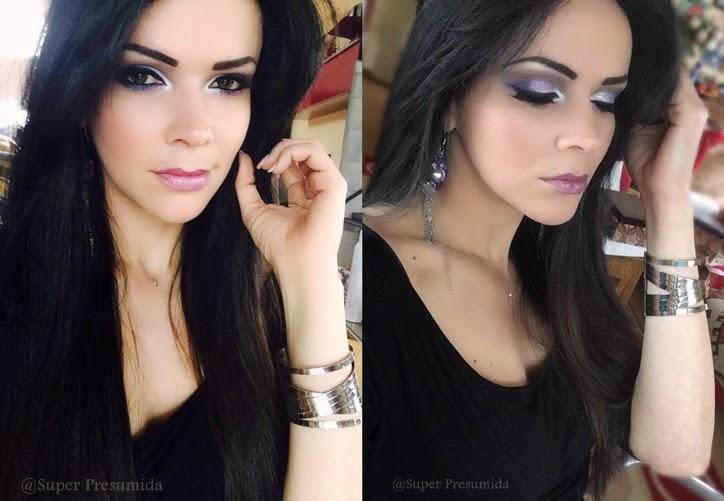maquiagem , passo a passo , turorial , trucos, fotorial , maquiagem lilas, maquiagem roxa , maquiagem prata , shirley medeiros, super presumida, tendencia , estilo , sombra sephora, maquiagem prata