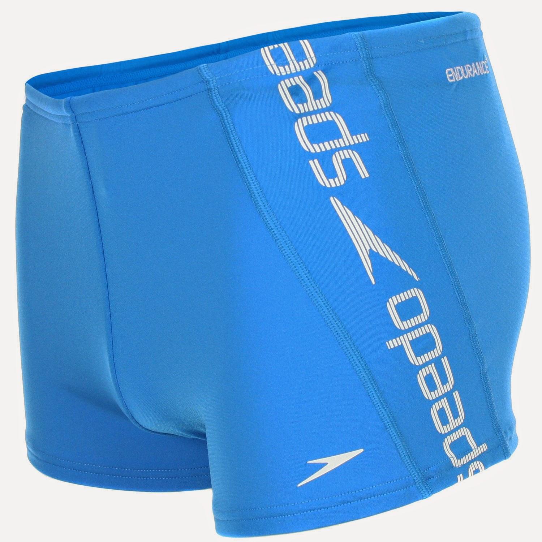 Speedo Mens Raise Swimming Trunks Lycra Aquashort Swimwear Briefs