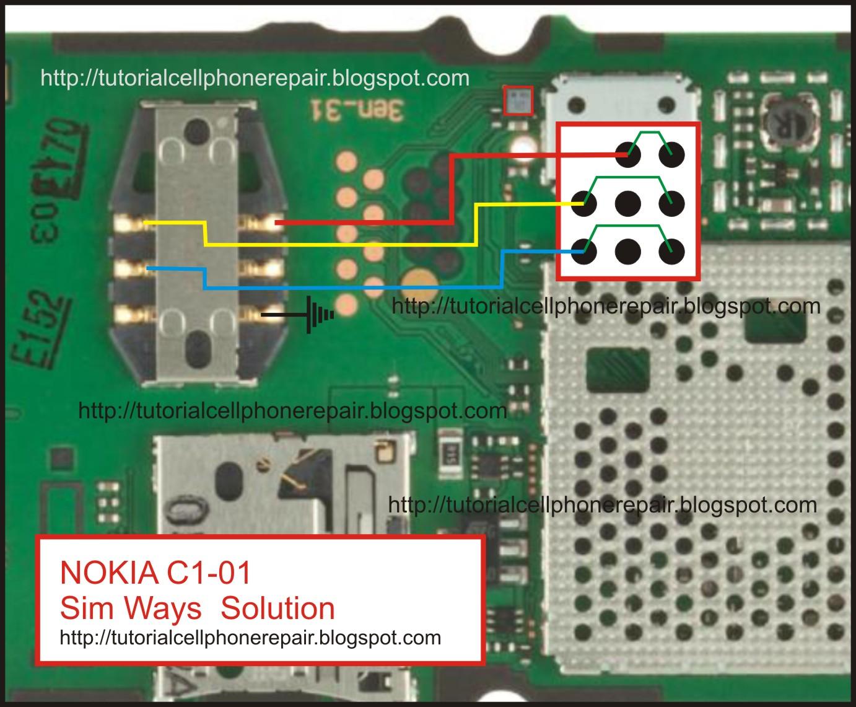 Circuit Diagram Nokia C1 01 Wiring Library
