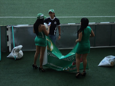 Las Chicas Quaker Estadio Omnilife