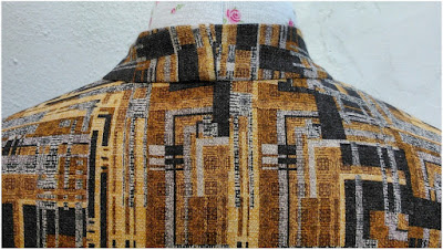 Neat neckline: back view