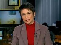 Emocionante: Sandra Annenberg chora após assistir reportagem no 'Jornal Hoje'; veja