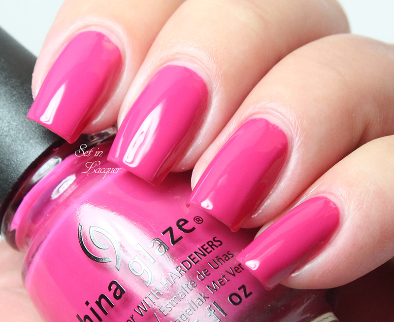 China Glaze - Make an Entrance