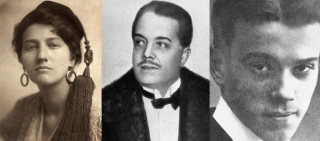 Gabrielle Enthoven, Vaslav Nijinsky y Serguèi Pavlovich Diàguilev