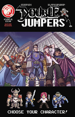 Cover of Double Jumpers #1 from Action Lab Comics