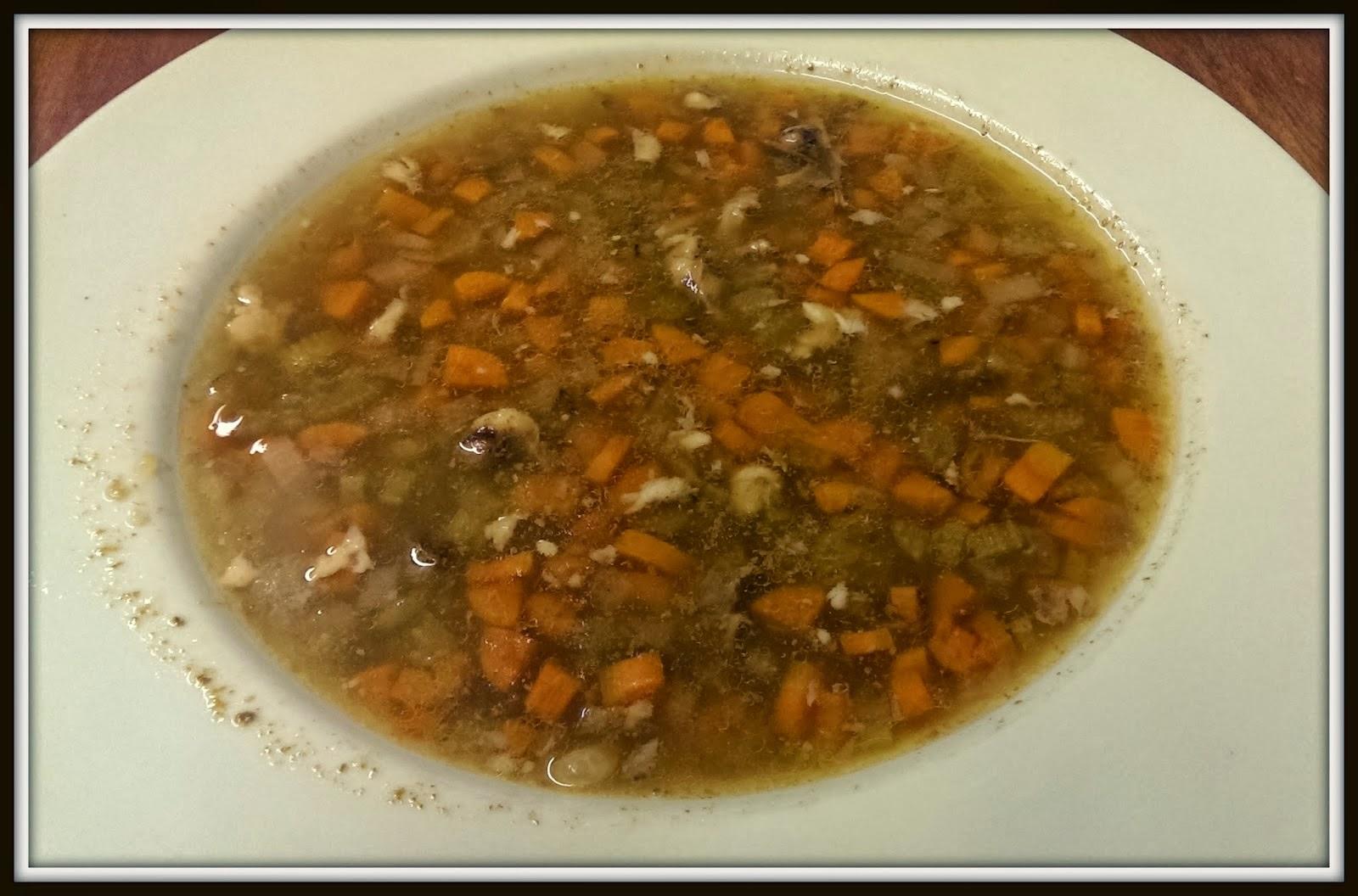 White Bean and Ham Bone Soup