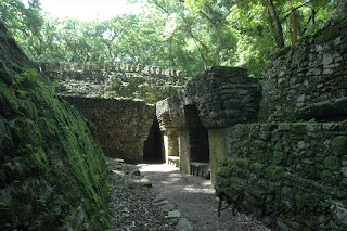 Paysages Mexique Chiapas Yaxchilan Temple blog photo voyage