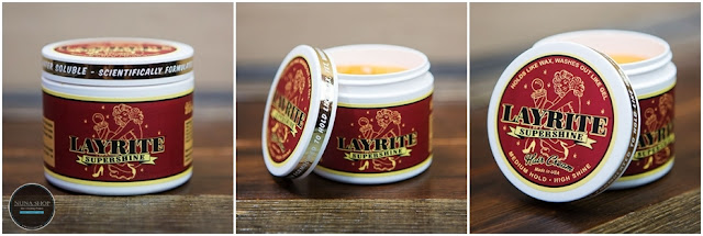 Layrite - Super Shine Pomade 4oz Red