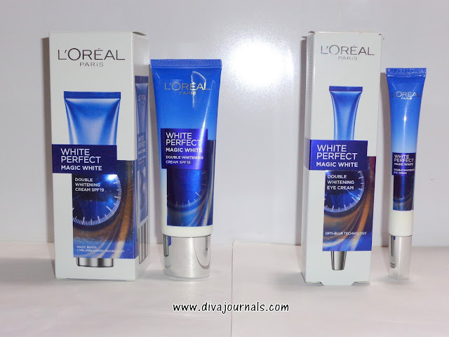 L'oreal Paris White Perfect Magic White Double Whitening Cream SPF 19 & Eye Cream Reviews