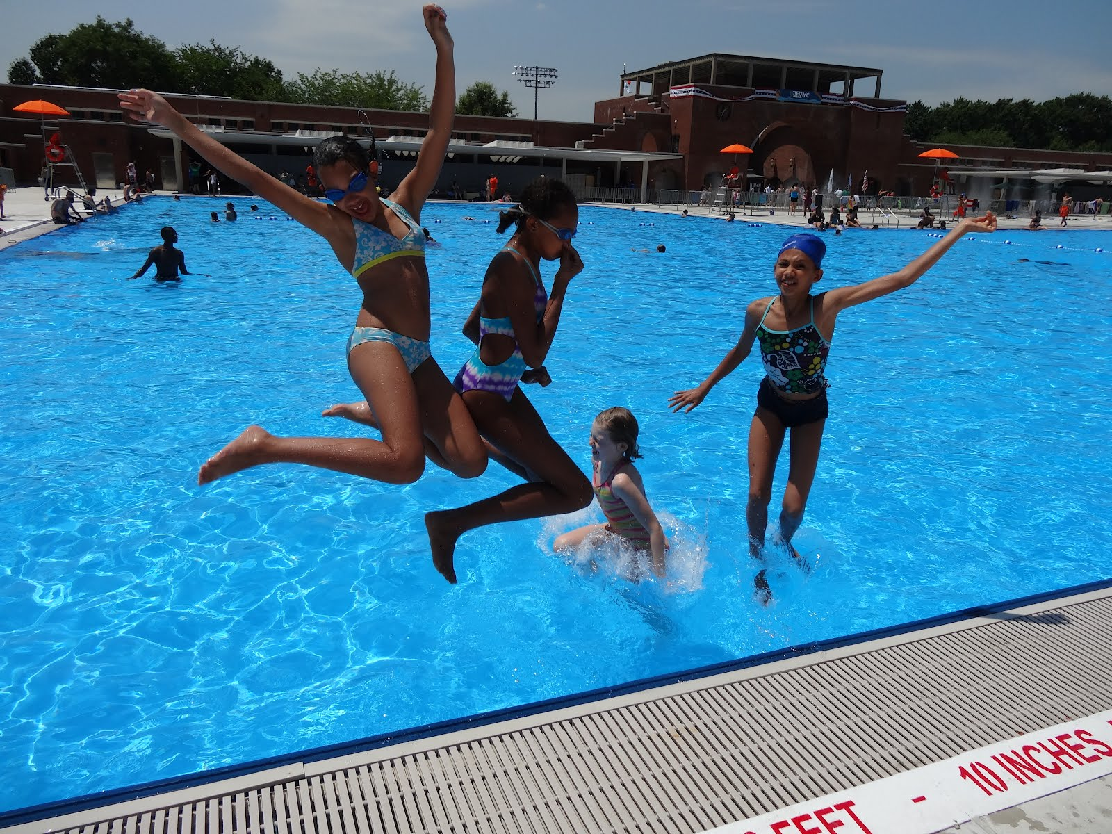 walk in the park historic mccarren park pool reopens after 28 years